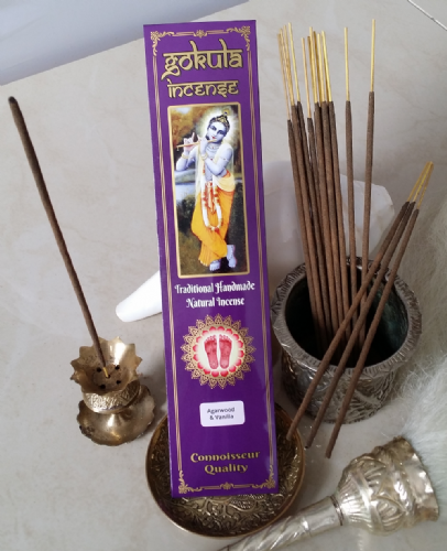 Agarwood & Vanilla Incense Sticks - 20 grams